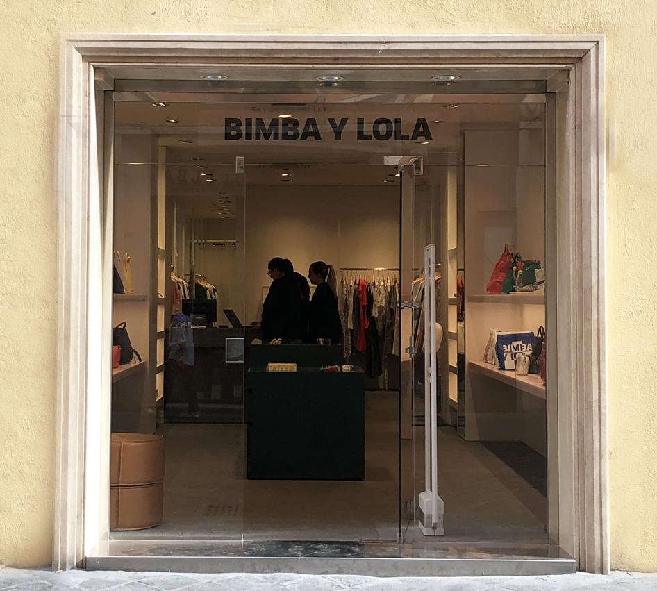 Nuova apertura Bimba Y Lola con un negozio via Frattina Rome
