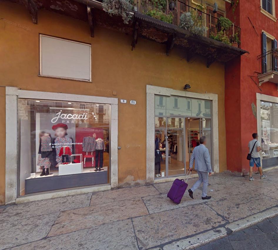 Apertura negozio Jacadi
