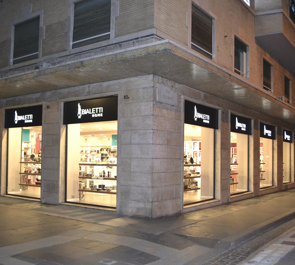 Apertura negozio Bialetti Via Cola di Rienzo