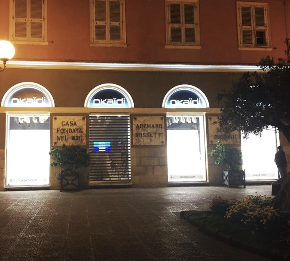 Aperta negozio Okaïdi Piazza Alberto Azuni Sassari