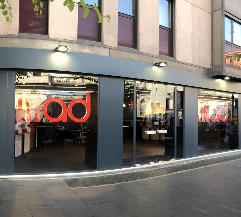 Inaugurazione Flagship store Roma