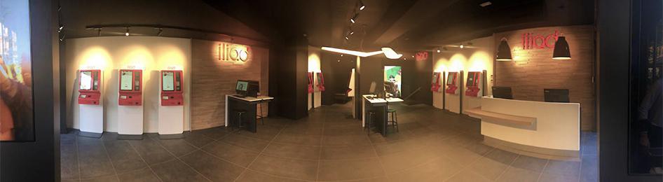 Apertura flagship store Roma interno