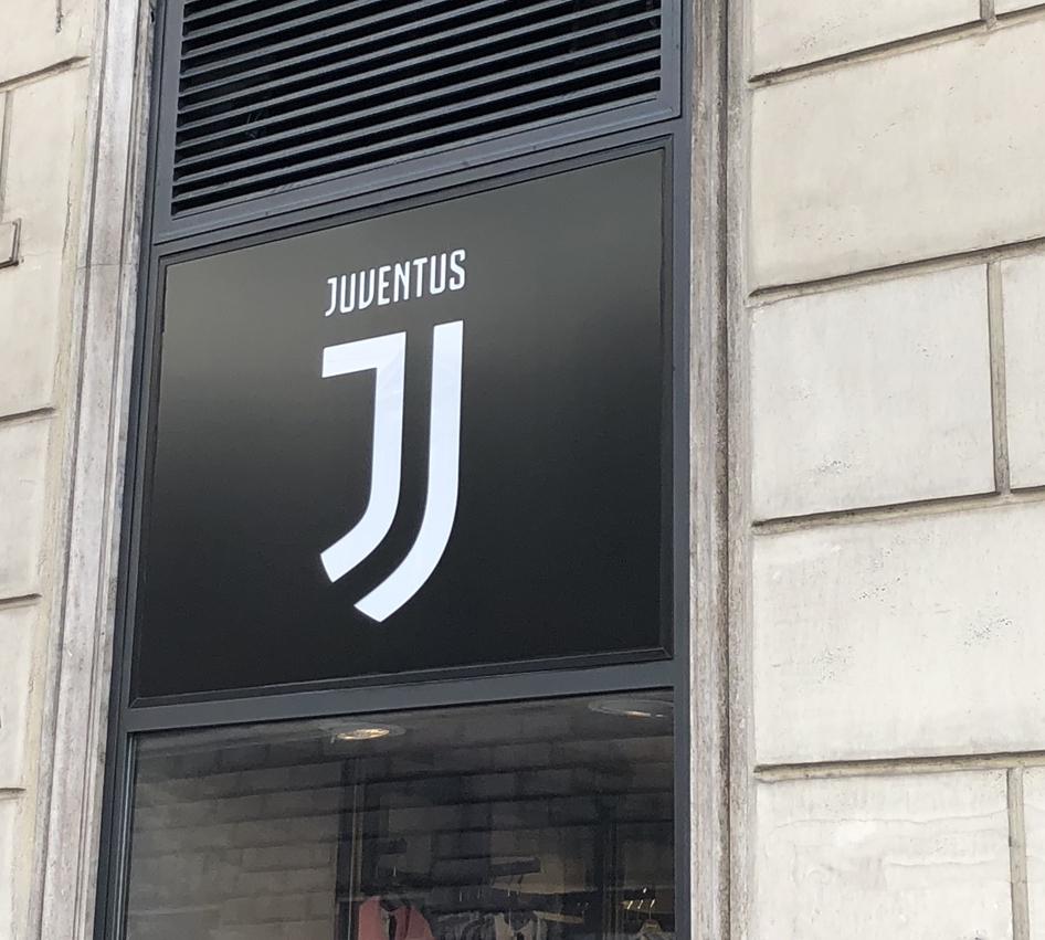 Negozio Juventus Insegna