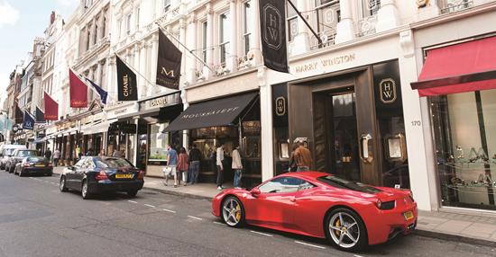 10 vie del lusso nel mondo