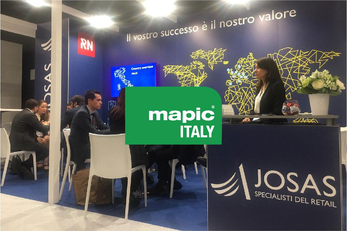 JOSAS rassegna stampa mapic milano 2019