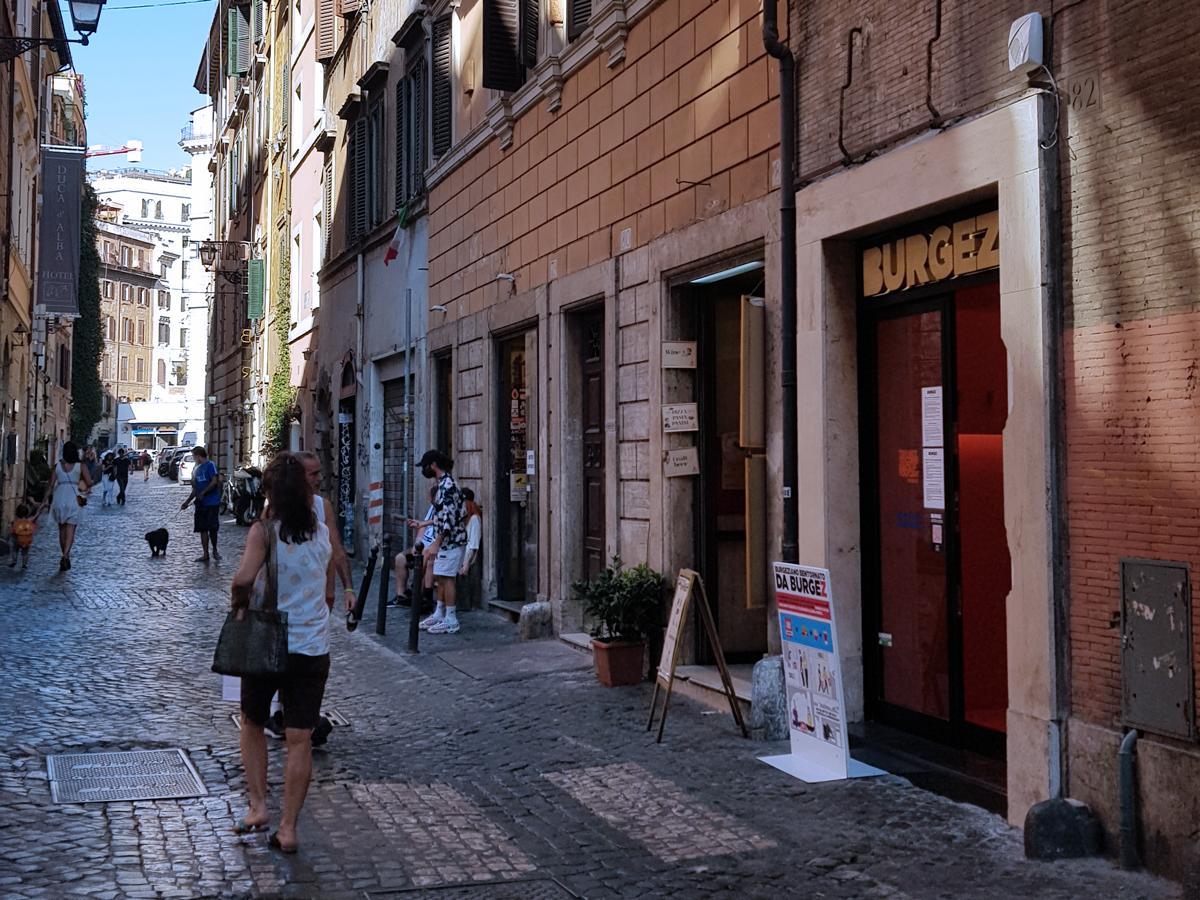 apertura burgez roma