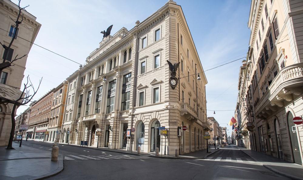 roma h&m palazzo ex unione militare